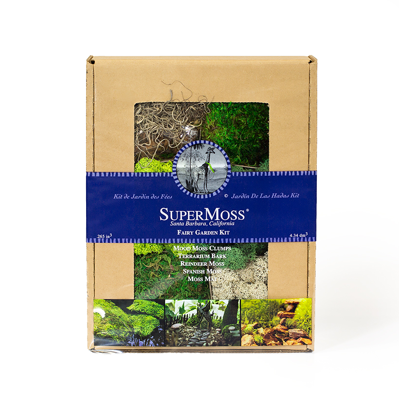 SuperMoss Fairy Garden Kit